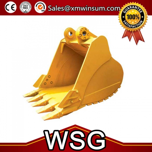 CAT 320D Excavator Bucket Parts Heavy Duty Type | WSG Machinery