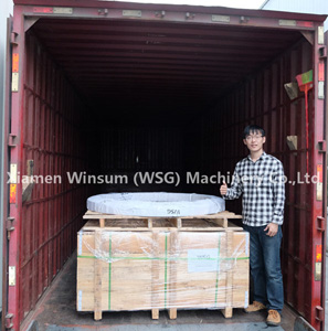 WSG Slewing bearing ready for shipping