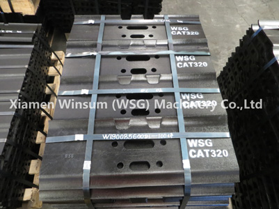 WSG track shoe, cutting edge and carrier roller OEM quality